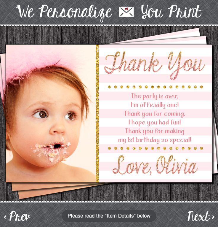 The 25 best Birthday thank you cards ideas – Thank You Card Birthday