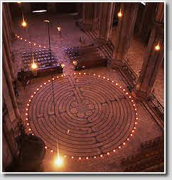 The Chartres Cathedral Labyrinth, built in the 13th Century, is perhaps the best known surviving medieval labyrinth. It is a tool for contemplation and meditation, the Christian mandala representing spiritual growth and eventual union.