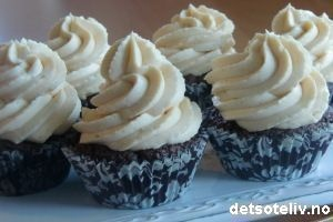 Brownie caramel luxury cupcakes (detsoteliv.no)