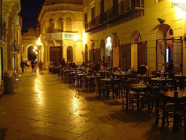 Streets (Marsala - Sicily) la mia citta di notte!!