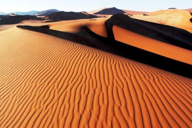 Gambar Padang Pasir - Gurun Kalahari