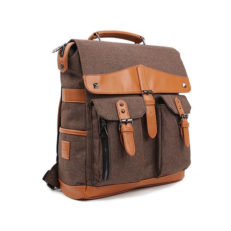 university backpack school college book bags YU9015 coffee
