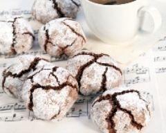 Amaretti au chocolat (facile, rapide) - Une recette CuisineAZ