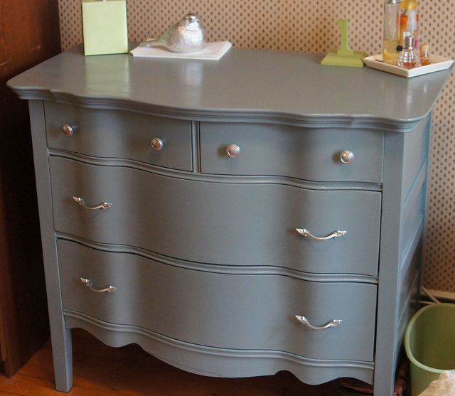Finally Done Updating This Old French Style Dresser Paint