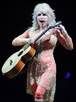 Dolly Parton takes the stage at  Thompson-Boling Arena for her Better Day world tour opener in Knoxville, Tenn., on July 17, 2011.