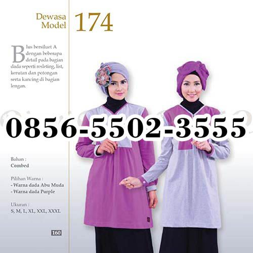 Gamis Qirani 118, HP.0856-5502-3555,