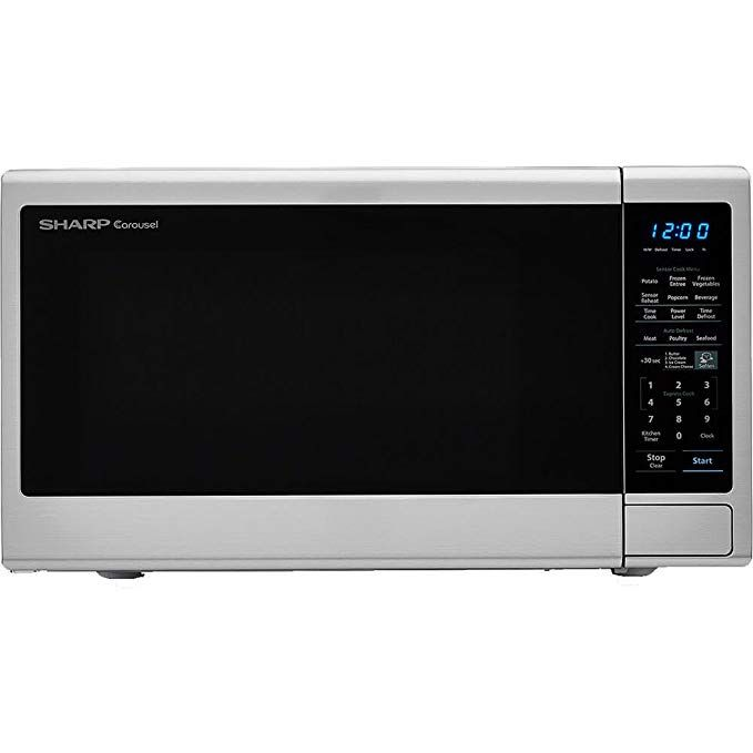 Carousel 1 8 Cu Ft 1100w Countertop Microwave Oven Review Countertop Microwave Oven Microwave Oven Countertops