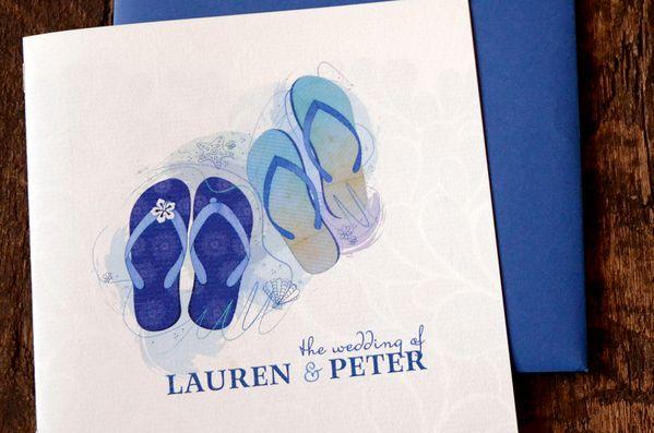 Fiji #Wedding #Invitations by Carli Foot, via Behance #stationery