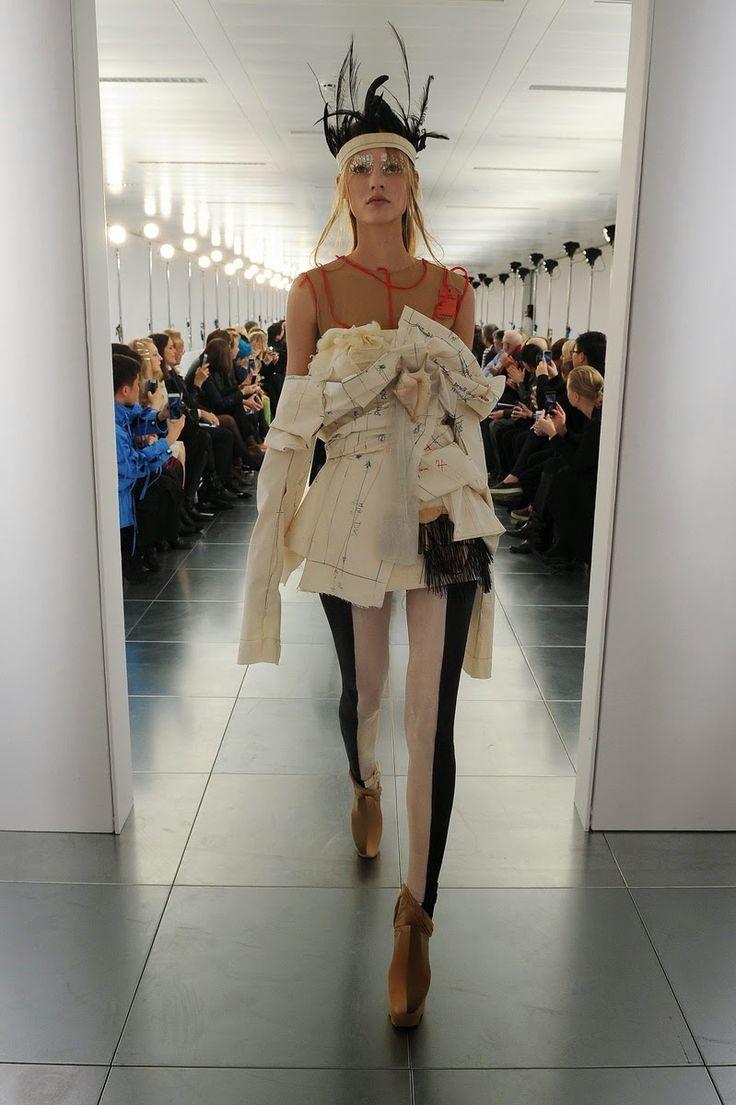 Mis Queridas Fashionistas: Maison Margiela Artisanal Couture Spring 2015