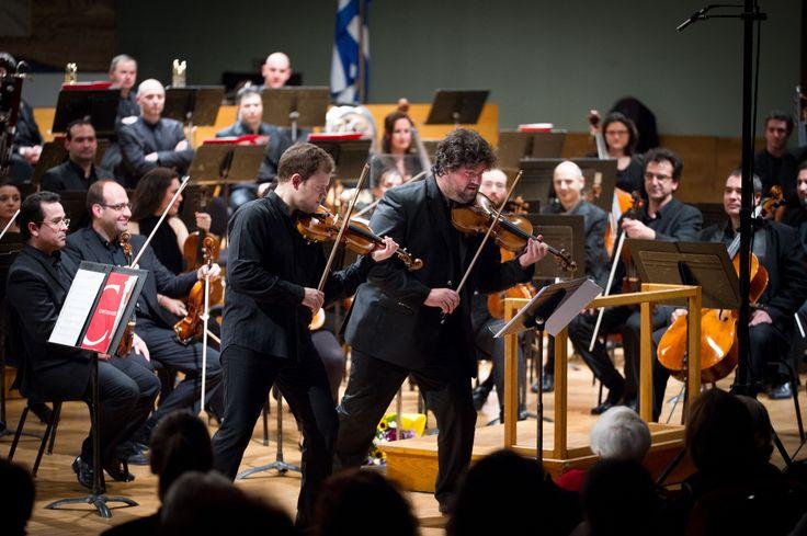#Concert @mikulskidariusz with #Thessaloniki State #Orchestra #DariuszMikulski #Karakantas #Papanas #Violin