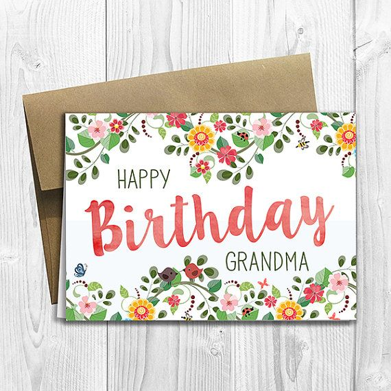 Best 20 Happy Birthday Grandma ideas – Birthday Cards for Grandma