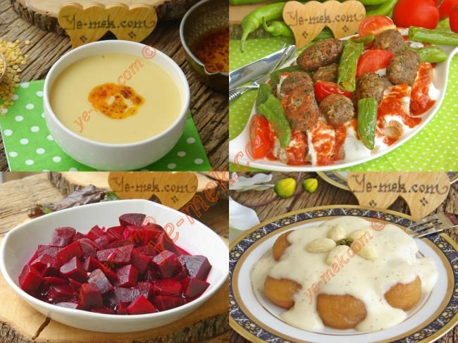 İftar Menüsü (Ramazan 9. Gün) - İftar Menüleri