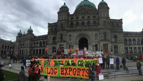 #Media #Oligarchs #Banks vs #union #occupy #BLM #SDF #Humanity   Forest industry workers and environmentalists rally for sustainable forestry   https://www.wildernesscommittee.org/victoria/press_release/forest_industry_workers_and_environmentalists_rally_sustainable_forestry   Workers from the BC forest industry, First Nations' representatives, environmental activists, and citizens rallied at the BC Legislature today. The diverse coalition called for a ban on raw log exports and a transition…