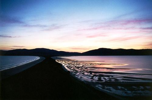Bruny Island Isthmus - a beautiful image