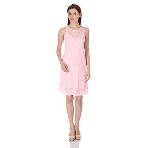 Chemistry #Women's #Cotton A Line #Dress (M15-203KDKDR_Gum_X-Small)