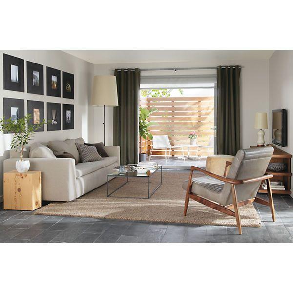 Callan Chair & Ottoman | Recliner, Ottomans and Living rooms