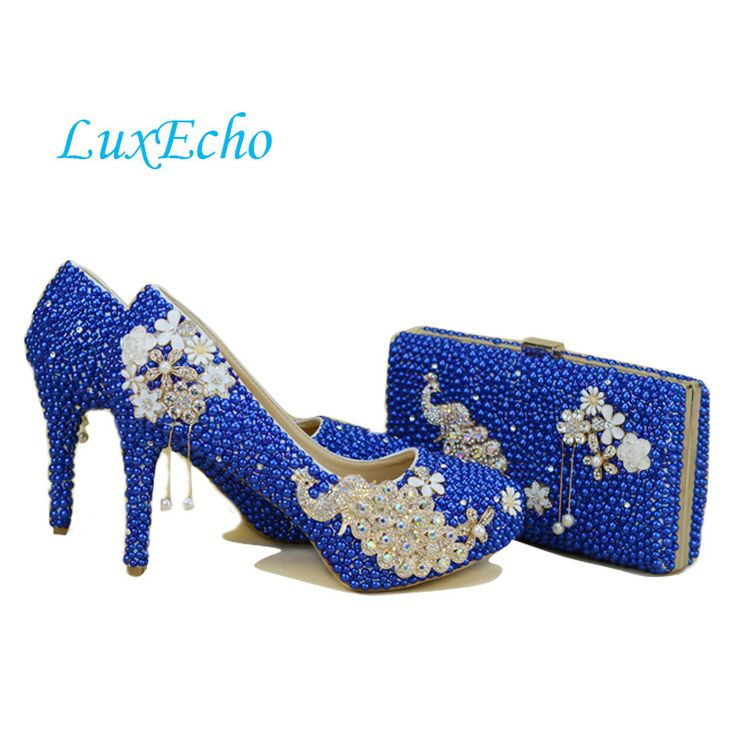 Gold rhinestone handmade bride wedding shoes  peacock bridal shoes ultra high heels platform shoes free shipping en Bombas de las mujeres de Zapatos en AliExpress.com | Alibaba Group