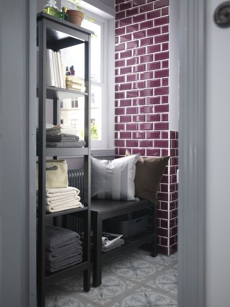 Even a small bathroom can become a home oasis to spend valuable me-time in.