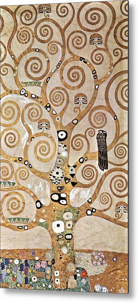 Gustav Klimt – Tree of Life Detail – Lebensbaum A symbolic painting from Gustav Klimt's golden phase completed in 1909. Buy Gustav Klimt Tree Of Life prints at Fine Art America