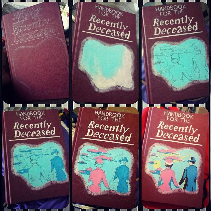 Handbook for the Recently Deceased #handbookfortherecentlydeceased