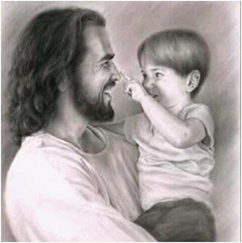 I adore this picture of Christ.
