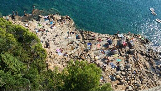 Livorno beach