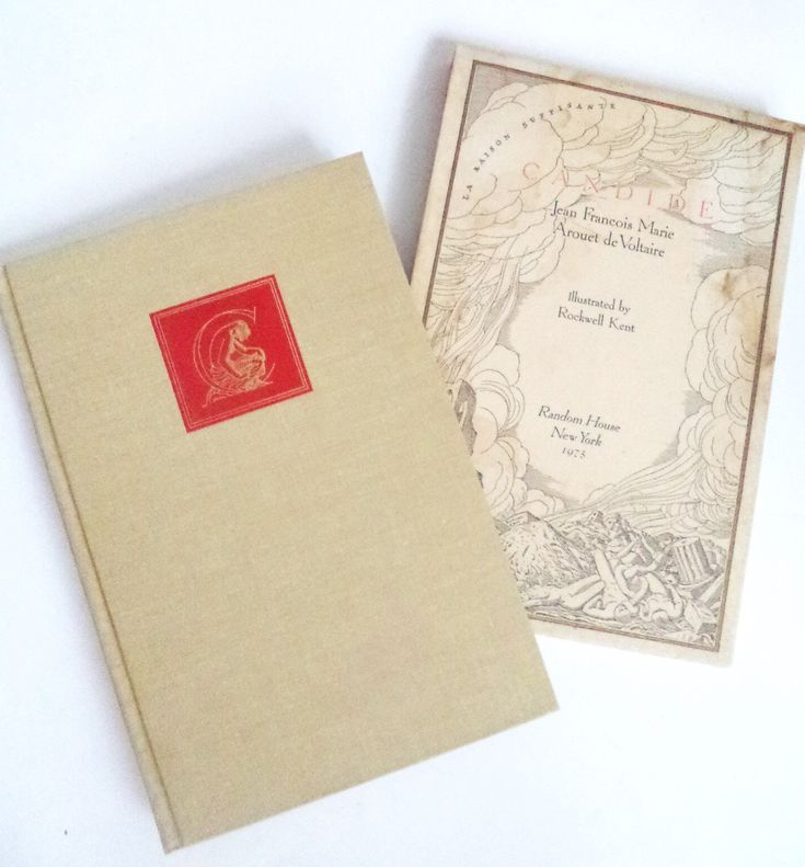 Voltaire's CANDIDE first Edition Illustrated 1975 Book Random House Special Limited Edition Rockwell Engravings Slipcase, Satire, Fiction by MushkaVintage3 on Etsy
