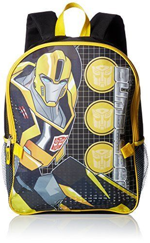 Transformers Boys' Backpack with Lunch Kit. #Transformers #Boys' #Backpack #with #Lunch