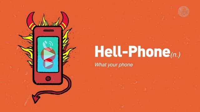 Hell Phone  Agency : Contract Film Head: Sugato Roy Creative: Debanik, Suparv Account Management: Geetika Thakur, Harshit arora Production Supervisor(UncommonSense Films): Ratnadeep Sharma Animation(UncommonSense Films): Suraj Director(UncommonSense Films): Ravi Prakash