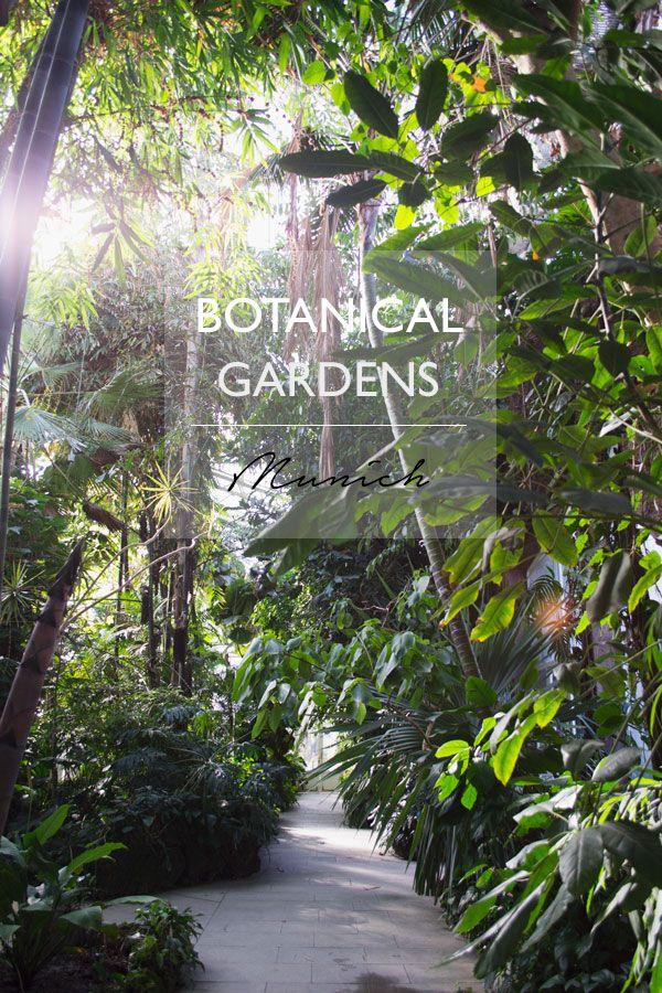 Beautiful Botanical Gardens Munich