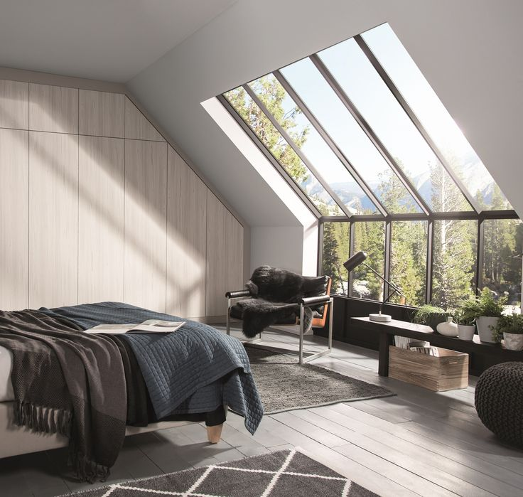 Loft Conversion Idea | huge windows to let all the natural light in
