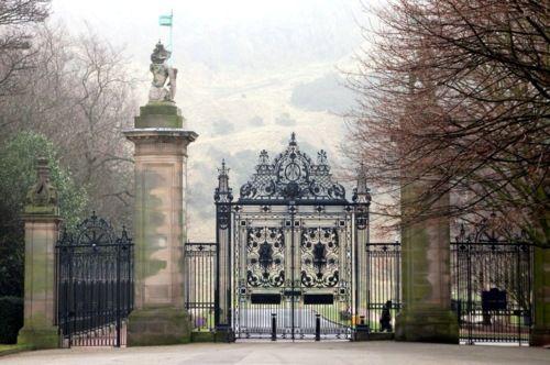 Holyrood Palace Gate, Edinburgh