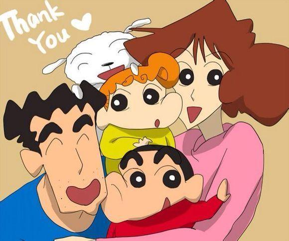 Love u Nohara family