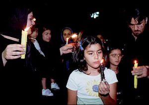 On the evening of 11 September, 2001, over ten thousand Iranians held a candlelight vigil in Madar Square, Tehran, to express their sympathy and support for Americans and to mourn those affected!#USA #Iran #America #Humanity #Inspiration #incident #tragedy #911#heart warming #Iran #facts #humanity
