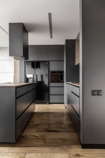 The kitchen is certainly the stand out room