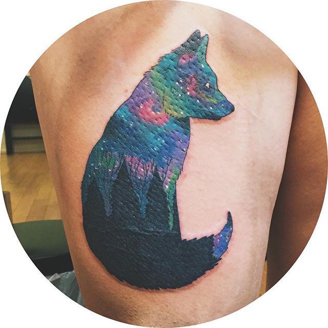 fox nebula tattoo - photo #2