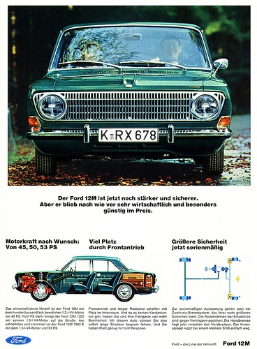 Ford Taunus (1967) 12M