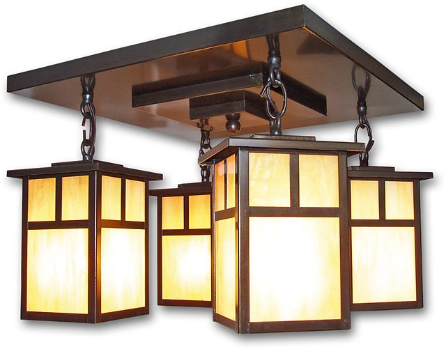 20 best craftsman style lighting images on Pinterest Craftsman