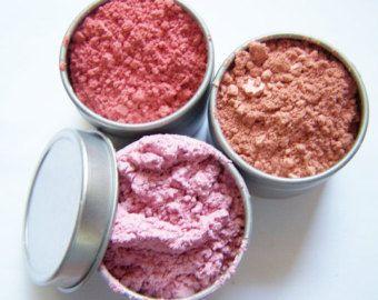 Muestras de maquillaje mineral Blush  elegir 3 por KeepingItNatural