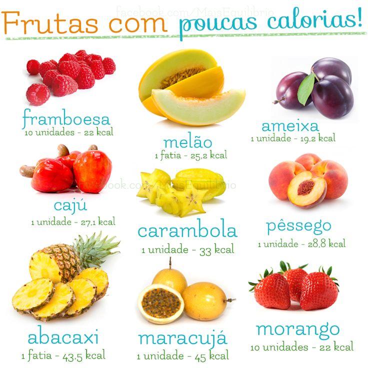 E existem muitas outras frutinhas leves para matar sua fome!