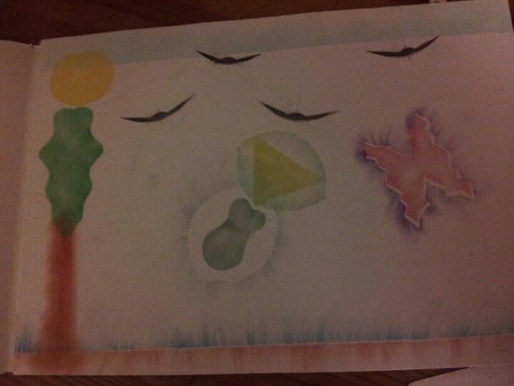 Crayon thingie again