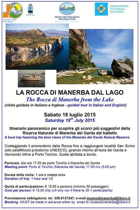 La visita guidata La Rocca di Manerba dal Lago ha luogo sabato 18 luglio 2015 a Manerba del Garda @gardaconcierge