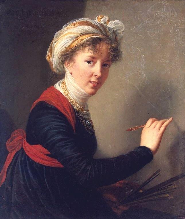 Élisabeth-Louise Vigée-Le Brun, Autoritratto a 45 anni