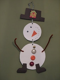 Snowman Mobile