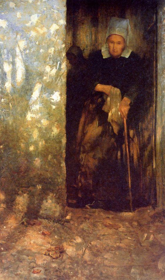 Живопись маслом. Ernst Josephson (1851–1906), Soleil d'Automne - 1896