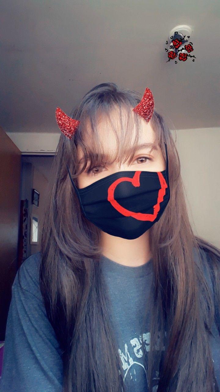 Coreana Linda Cute Girl Poses Girl Poses Mask Girl