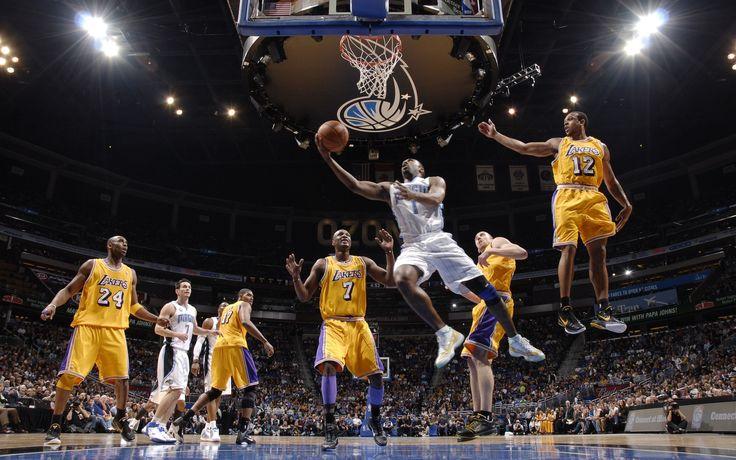 Los Angeles Lakers VS Orlando Magic HD Wallpaper