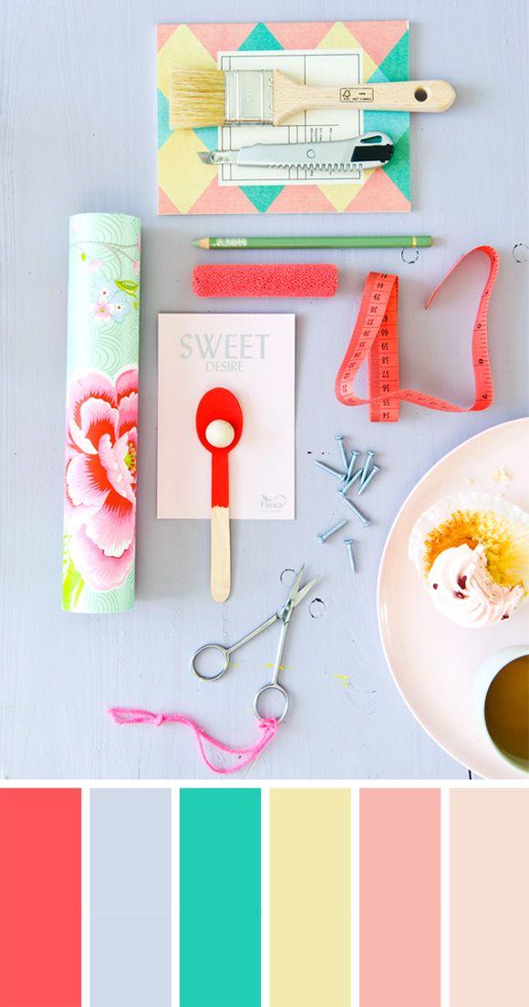 Color palette Sweet Desire, Kleurinspiratie.nl