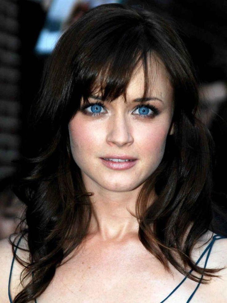 Les 27 meilleures images du tableau brune aux yeux bleus sur pinterest visages yeux bleus et - Brune yeux bleus ...