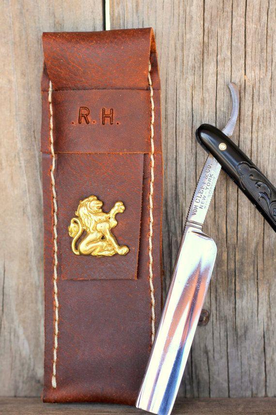 Custom Groomsman Gift Personalized Leather by LifetimeLeatherCo